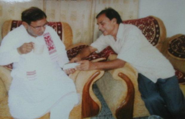 Dr.Madhepuri with Sharad Yadav
