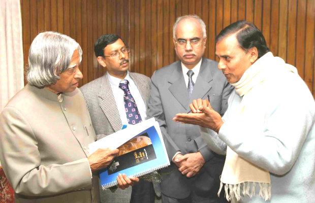 Dr.Madhepuri with Dr.APJ Abdul Kalam