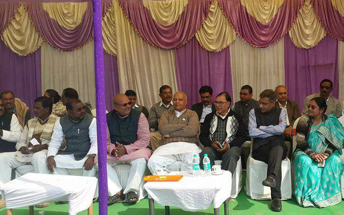 Samajsevi Dr.Bhupendra Madhepuri , Honourable Energy Minister Mr.Bijendra Prasad Yadav , Finance Secretary Mr.Rahul Singh (IAS) , Zila Parishad Chairman Manju Devi , IMA President Dr.Mithilesh Kumar , Secretary Dr.D.K. Singh and others to join the greatest