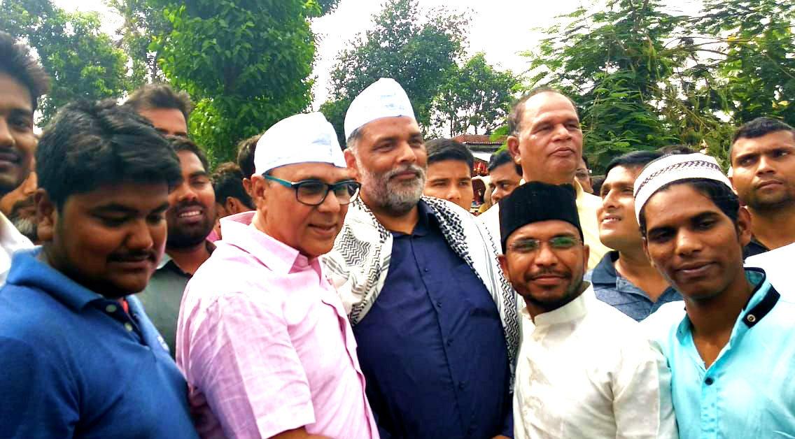 Eid Mubarak at Eidgaah Madhepura.