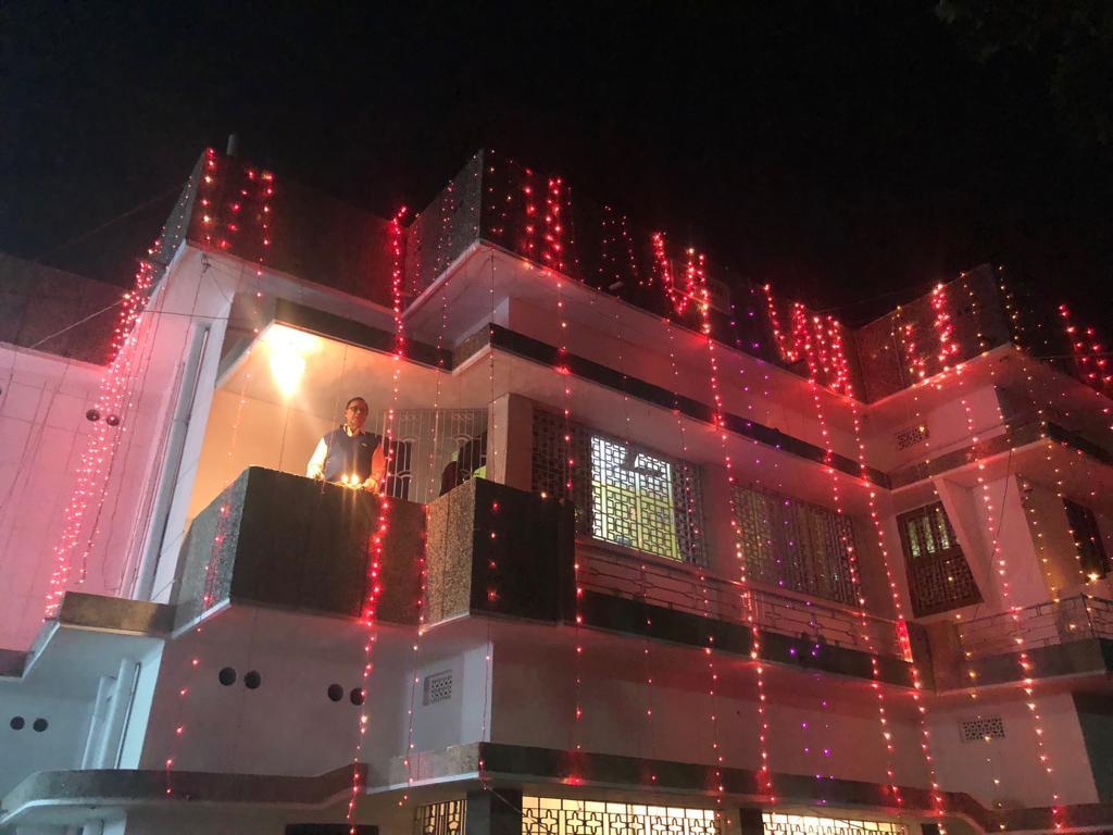 Dr.Madhepuri's Residence Vrindavan.