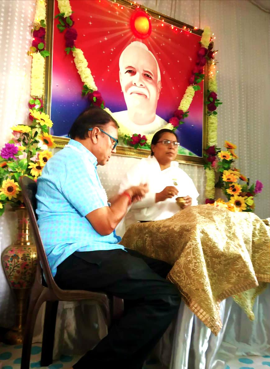 Bhaiya Doose celebration at Bhrahma Kumari Ishwariya Vishwavidyalaya.