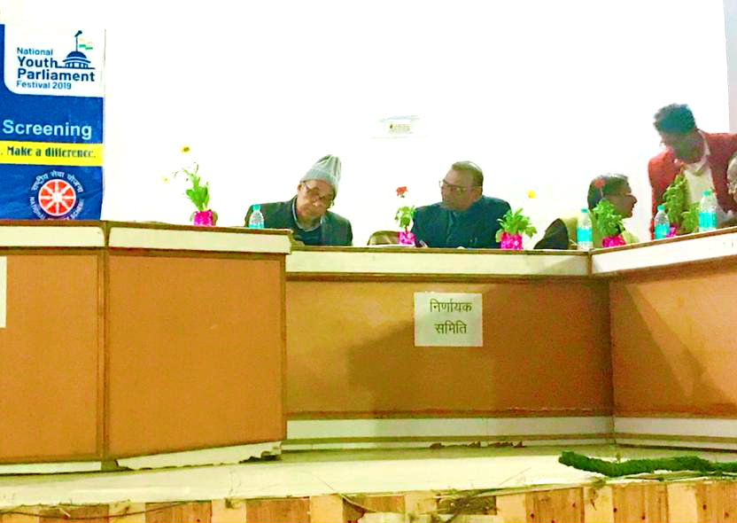 Dr.B.N.Yadav Madhepuri, Dr.DeoPrakash, Ajay Kumar Gupta , S.K.Prasad members of Nirnayak Mandal on the occasion of
