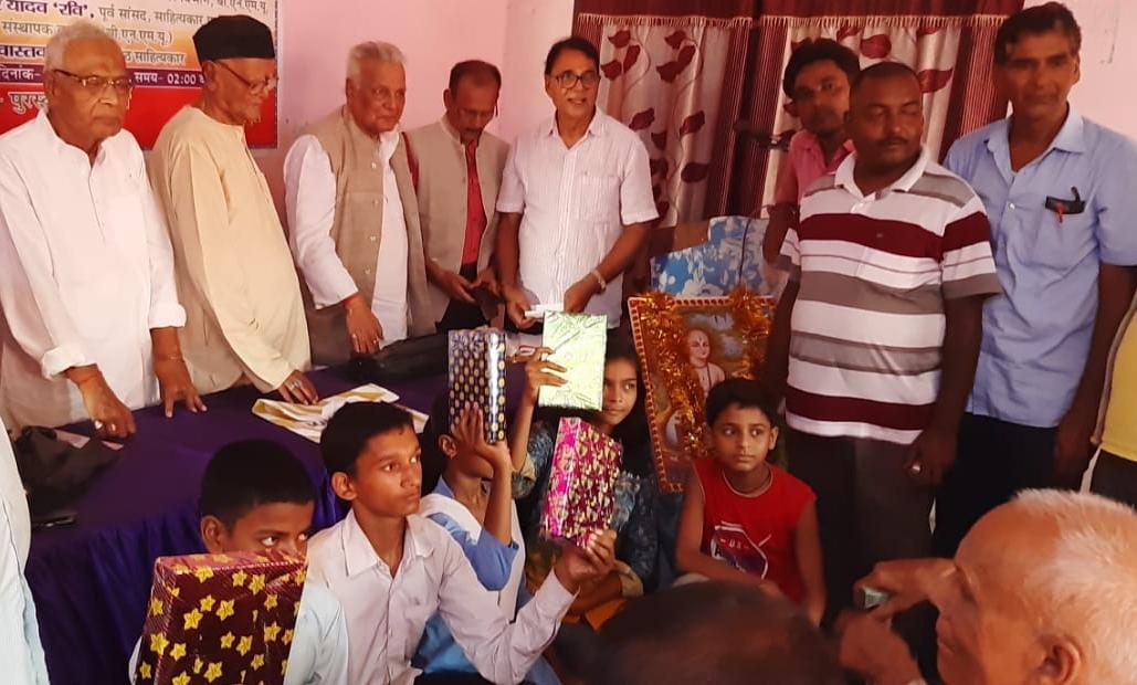 With Winner Participants at Kaushiki Sahitya Sammelan, Madhepura.