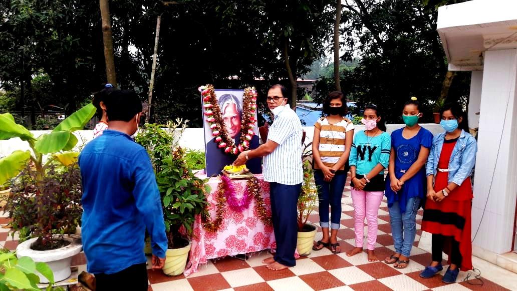 Bharat Ratna Dr.APJ Abdul Kalam' Death Anniversary on 27th July at Vrindavan (Dr.Madhepuri's Residence).